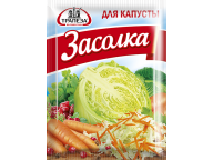 """Приправа """"Для квашения капусты"""" ТМ Трапеза, пакет 30г. 1/40"""
