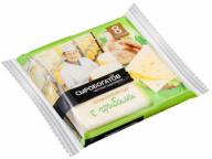 """Сыр плавленый """"Грибы"""" 45% 130г слайсы (8 ломтиков)"""