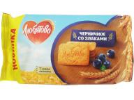 """Печенье сахарное """"Черничное со злаками"""" 114 гр. 1/18"""