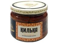 Килька балт. обжаренная в т/с За Родину 270г 1/12 стекло