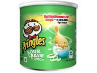 Чипсы Pringles Сметана лук 40 гр. 1/12