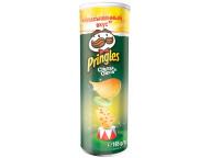 "Чипсы Сыр/Лук 165г 1/19 ТМ""Pringles"""