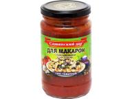 """Соус томатный """"Для макарон с баклажанами и чесноком"""" 360 г 1/8"""