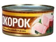 """Окорок """"Деликатесный 325 г 1/24 ТМ Рузком"""