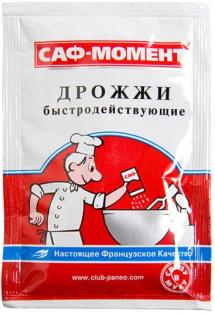 Дрожжи быстродействующие Саф-Момент 11гр 1/60