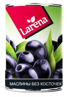 Маслины без косточки Larena 1/24 280 гр