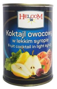 Ассорти фруктовое HELCOM 425 мл 1/12 ж/б