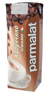 """Молочный коктейль с кофе и какао """"Капуччино"""" 0,25л"""