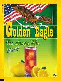 Растворимый чай со вкусом лимона «Golden Eagle» 20г 20шт 1/1