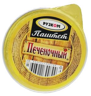 Паштет печёночный ламистер 90 г 1/20 Easy Open ГОСТ ТМ Рузком