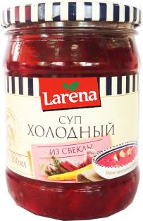 Суп Холодный из свеклы 500 мл ТМ LARENA 1/8