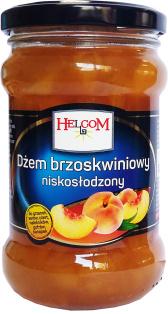 Джем персиковый HELCOM 320 мл стекло 1/8