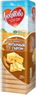 Крекер Янтарный с сыром 235 гр. 1/24