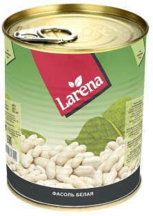 Фасоль белая в с/с LARENA 425 мл 1/24