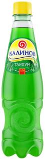 Лимонад ПЭТ Тархун Калинов 0,5 л. 1/12