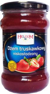 Джем клубничный HELCOM 320 мл стекло 1/8