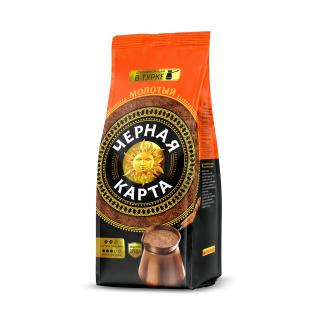 Кофе молотый Черная Карта для турки, пакет, 250г (*12)