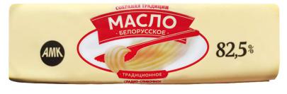 """Масло """"Традиционное"""" 82,5% 450гр ТМ """"Сохраняя традиции"""" 1/10 БЗМЖ"""