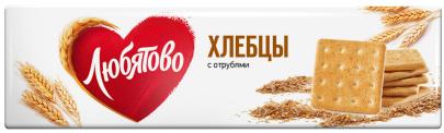 """Хлебцы с отрубями 185г 1/15 ТМ""""Любятово"""""""