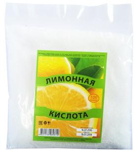 Лимонная кислота 100г 1/36