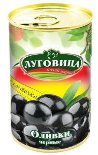 Маслины Луговица 280 мл с/к ж/б 1/24