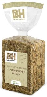 Хлебцы скандинавские овсяные Baker House 180 гр. 1/8
