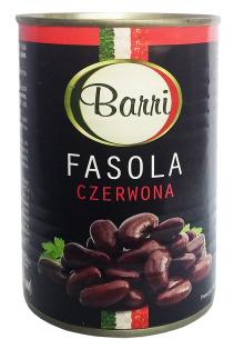 Фасоль красная в с/с BARRI 425 мл 1/24
