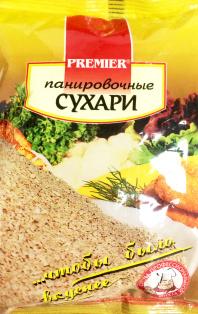 Сухари панировочные PREMIER 30шт/190г