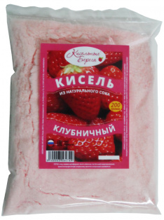 Кисель Клубника 200 г 1/45