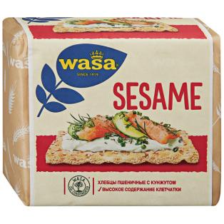 Хлебцы пшеничные с кунжутом WASA 200гр 1/12