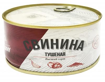 Свинина в/с ГОСТ За Родину 325 гр 1/24 ключ