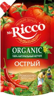 "Кетчуп MR ""Острый"" 350 гр. 1/16"