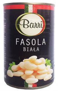 Фасоль белая в с/с BARRI 425 мл 1/24