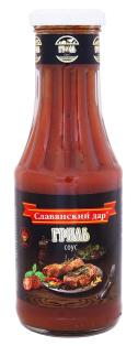 Соус томатный Гриль соус 340г. ТМ Славянский дар 1/9