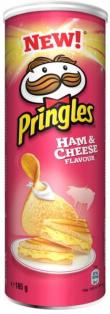 """Чипсы Ветчина и Сыр 165г 1/19 ТМ""""Pringles"""""""