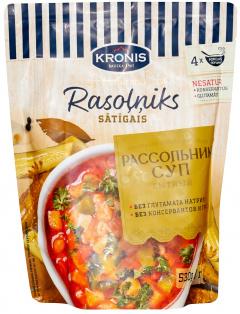 Суп рассольник сытный 530 г полим. пакет 1\8 KRONIS
