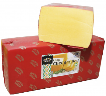 """Cheddar Red 50% ТМ """"Поставы"""" ~5кг брус /15кг"""