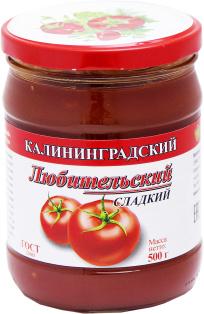 Кетчуп Соус Любительский сладкий с/б 500 1\6