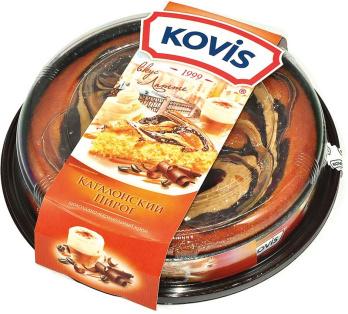 Пирог шоколадно -карамельный Kovis 400 гр. 1/6
