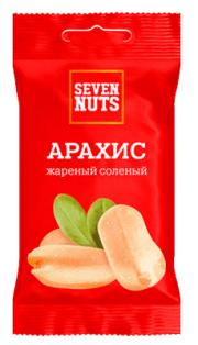 """Арахис жареный соленый ТМ """"Seven Nuts"""" 50г 1/20"""