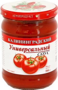Кетчуп Соус Универсальный с/б 500 1\6