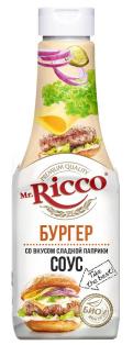 """Соус MR """"Бургер"""" пэт/б 310 гр. 1/12"""