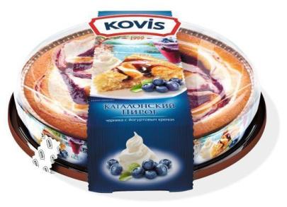 Пирог черника йогурт Kovis 400 гр. 1/6