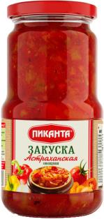 Закуска овощная Астраханская Пиканта 530 г 1/6