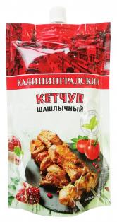 Кетчуп Шашлычный Калининградский дой-пак 350 гр 1/18 шт