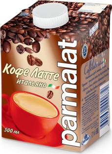 """Молочный коктейль с кофе и какао """"Кофелатте"""" 0,5л 1/12"""