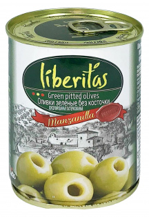 Оливки Liberitas 425 мл б/к ж/б 1/24
