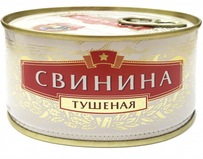 Свинина ПРЕМИУМ В/С ГОСТ КТК 325г 1/24 ключ