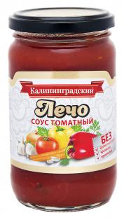 Соус томатный Лечо ТМ Калининградский 360г 1/8