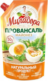 """М-з Миладора """"Провансаль"""" 50% д/п 800 мл (750 гр.) 1/6"""